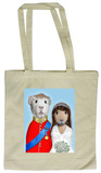 Pets Rock Mr & Mrs Tote Bag Indkøbstaske
