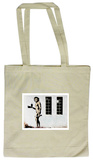 Cave Man Fast Food Tote Bag Tragetasche
