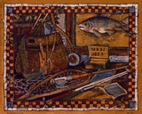 Eli's Fishing Gear Prints by Susan Winget