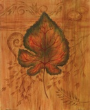 Autumn Leaf II Prints by Marcia Rahmana