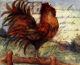 Le Rooster I Posters by Susan Winget
