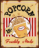 Popcorn Freshly Made Prints by Lesley Hallas