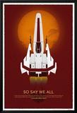Battlestar Galactica- 10Th Anniversary Art Print Photo