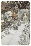 Alice in Wonderland - Mad Tea Party Blechschild