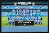 Manchester City- Team 15/16 Posters