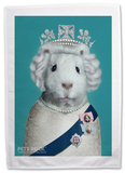 Pets Rock HRH Tea Towel Novelty