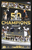Super Bowl 50- Celebration Posters