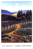 Dawn Vineyards Prints by Cie Goulet