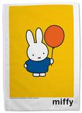Miffy with Balloon Tea Towel Originalt