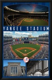 New York Yankees- Stadium 2016 Posters by Connie Haley