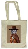 Pets Rock Western Tote Bag Tote Bag