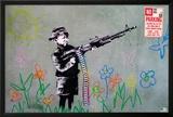 Banksy- Crayon Shooter Posters by Banksy