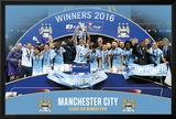 Manchester City League Cup Winners 2016 Print