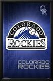 Colorado Rockies- Logo 2016 Posters