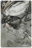 Alice in Wonderland - Pool of Tears Blechschild