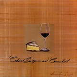 Wine Cheese I Prints by Jennifer Sosik
