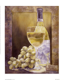 Grapes And Chenin Blanc Prints by Nancy Cheng
