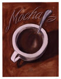 Mocha Prints by Darrin Hoover