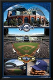 Milwaukee Brewers- Miller Park 2016 Poster
