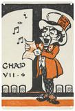 Alice in Wonderland - Mad Hatter Singing Blechschild