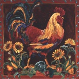 Rooster Rustic Posters by Suzanne Etienne