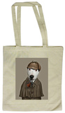 Pets Rock Detective Tote Bag Borsa shopping