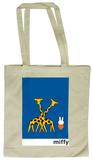 Miffy with Giraffes Tote Bag Sacs cabas