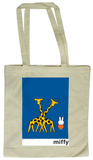 Miffy with Giraffes Tote Bag Tragetasche