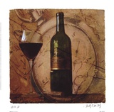 Wine III Prints by Judy Mandolf