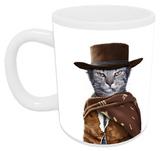 Pets Rock Western Mug Taza