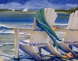 Seaside Breeze Prints by Kathleen Denis