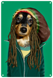 Pets Rock Reggae Tin Sign