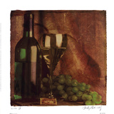 Wine II Poster by Judy Mandolf