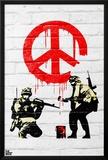 Banksy- Peace Soldiers Prints by Banksy