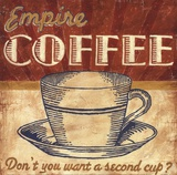 Empire Coffee Posters by Ted Zorns