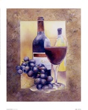Smooth Red Wine Poster by Nancy Cheng