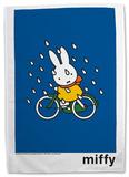 Miffy on Bicycle Tea Towel Originalt