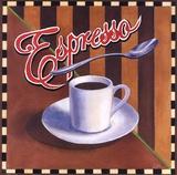 Espresso Poster by Geoff Allen