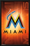 Miami Marlins- Logo 2016 Print