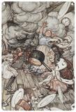 Alice in Wonderland - In the Kitchen Blechschild