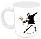 Flower Chucker Mug - Mug