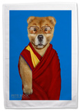 Pets Rock Tibet Tea Towel Novelty