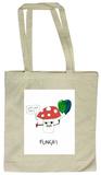 Doodles - Funghi Tote Bag Tragetasche