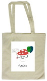 Doodles - Funghi Tote Bag Borsa shopping
