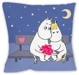 Moomintroll and Snorkmaiden Cushion Throw Pillow
