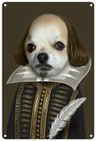 Pets Rock Shakespeare Tin Sign
