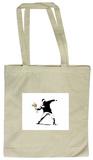 Flower Chucker Tote Bag - Tote Bag
