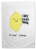 Doodles - Bitter Lemon Tea Towel Regalos
