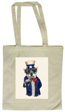 Pets Rock Uncle Sam Tote Bag Bolsa de tela