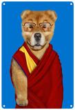 Pets Rock Tibet Tin Sign